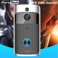 D06 Wireless Doorbell HD 720P WIFI Video Doorbell Night Vision Motion Detection Alarm Door Phone Visual
