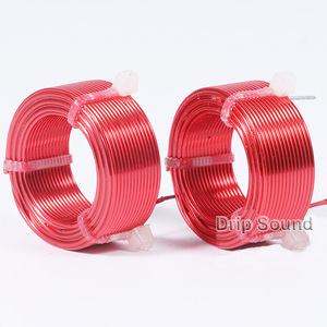 Image 3 - 1pcs 1.0mm 2.0mH 3.6mH Audio Amplifier Speaker Crossover Inductor 4N Oxygen Free Copper Wire Coil #Red