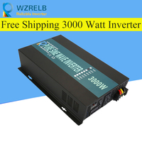 Reliable Pure Sine Wave Inverter UPS and charging function 3000W outdoor home frequency inverter with charger