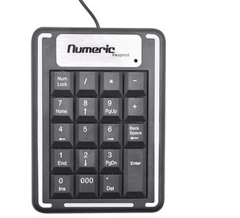 Mini Numeric Keypad, Mini USB Number Pad Full-Size 19 Keys Keyboard for Laptop Desktop PC Notebook Keyboards
