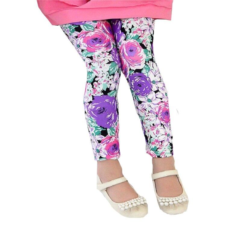 100% QualitäT 3 Teile/los Klassische Leggings Mädchen Hosen Mädchen Legging 2-7ybaby Mädchen Leggings