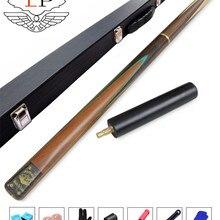 LP Snooker cue, модель Heifang, длина кия 145 см, Cue Tip 9,8 мм, пепельница, ручная работа 3/4 Бильярдные кии чехол, набор Китай