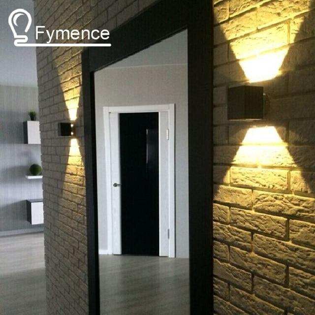 1X1 Watt Hohe Qualität Versprechen Führte Wandleuchte Quadratisch  Schwarz/Silber Innen Schlafzimmer/Wohnzimmer Wandleuchten