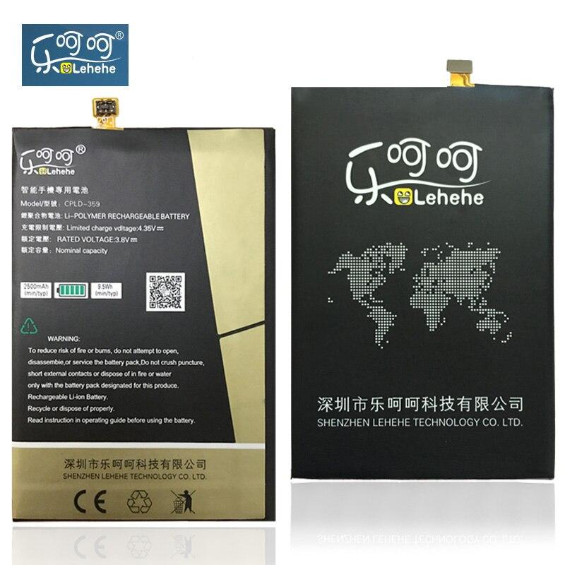 LEHEHE Batterie CPLD-359 Für Coolpad E501 CPLD-359 CPLD359 Batterie Ersatz 2500 mAh Hochwertige Geschenke
