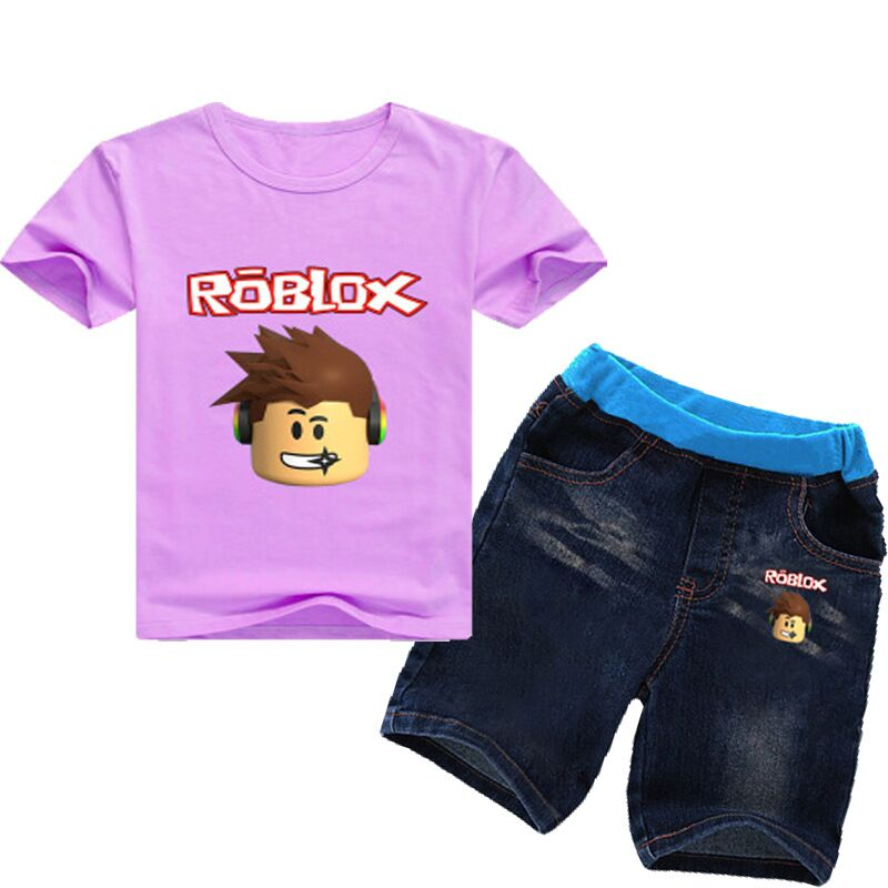 2020 2 8years 2018 Kids Girls Clothes Set Roblox Costume Toddler