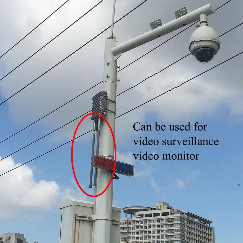 Купить с кэшбэком 2.4g wifi antenna  omni fiberglass base station antenna outdoor roof monitoring system wireless wifi signal coverage