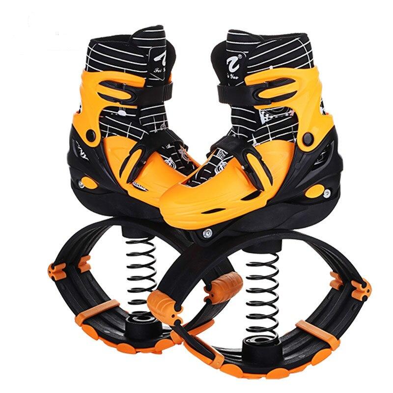 Enfants patins à roulettes Rebondir Chaussures Kangourou Saut Pilotis Ciel coureur Saut Bottes Cavalier Body Gym-bâtiment Ware