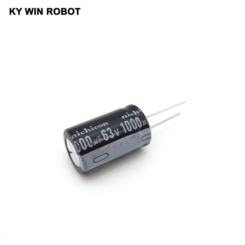 63V1000UF aluminum electrolytic capacitor HiFi Audio Capacitors Electronic parts