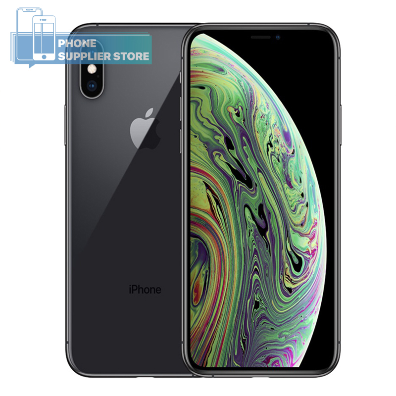 Apple iPhone XS 4G LTE Smartphone 5.8 inch Apple A12 Hexa-core 64/256/512GB ROM Face ID 12MP Dual Camera WiFi Mobile Phone(China)