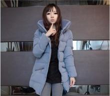Latest Winter Fashion Women Winter jacket Thick stand collar super warm cotton coat Women Big yards slim medium long coat G2002