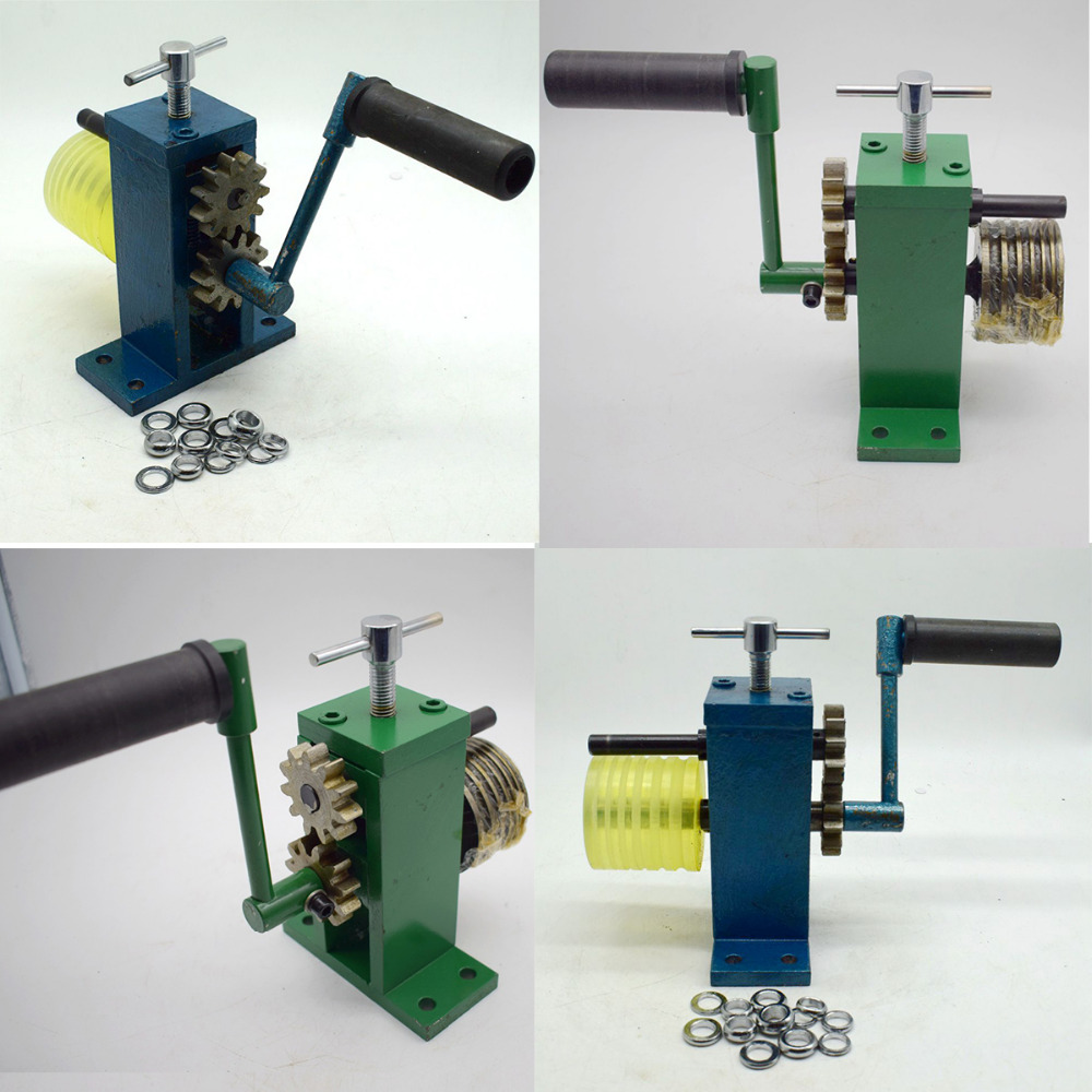 Jewelry Ring Making Bending Machine for Hoop Earring Ring Hand Operated Jewelry Equipment