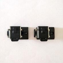 Livraison gratuite 1 paire Original AUA fibre gaine pinces porte fibres pour AUA A 81S A 80S FS 60E FS 60F FS 60C Fusion épisseuse