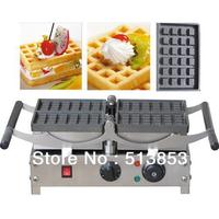 Free Shipping,Electric waffle baker, commercial waffle machine, can rolling over/ waffle grill/ 4 pcs one time