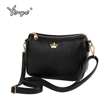 YBYT brand 2017 new PU leather women satchel small shopping bag ladies casual package female shoulder messenger crossbody bags