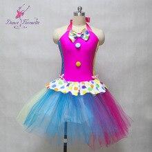Горячая распродажа дизайн балетный костюм сценическое балерина танец туту леди балетный костюм