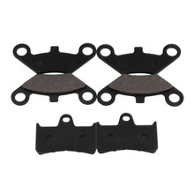 6 Pieces Motorcycle parts Brake Pads Universal ATV Front And Rear Disc Brakes Motorcycle Brake Pads Motorcycle Accessories starpad for xinyuan accessories x2x front disc brakes front and rear sheet for xinyuan x2 x2 x2x brakes 4