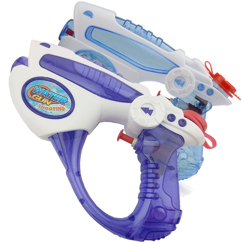 Outdoor Beach Toys Kids Summer Beach Water Gun Seaside Natatorium Square Drifting Water Pistol Squirt Toys