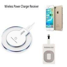 Ци Беспроводной быстрой зарядки Pad Зарядное устройство Док + приемник для Apple iPhone 5/6/7/плюс #257593