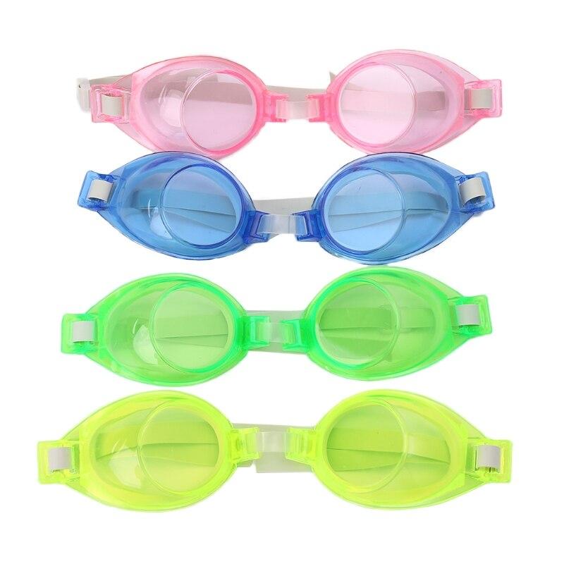 Kids Children Silicone Waterproof Anti Fog Swim Pool Swimming Goggles Glasses #35/6W