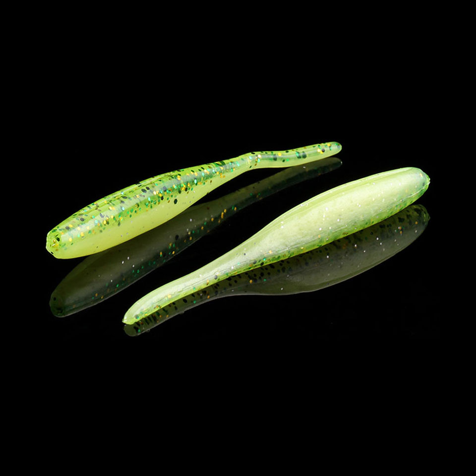 WALK FISH 16PCS/Lot 80mm 2.3g Plastics Baits Fishing lures Soft Worm Pesca Iscas Tackle Lure New Spoon Wobblers Soft lure