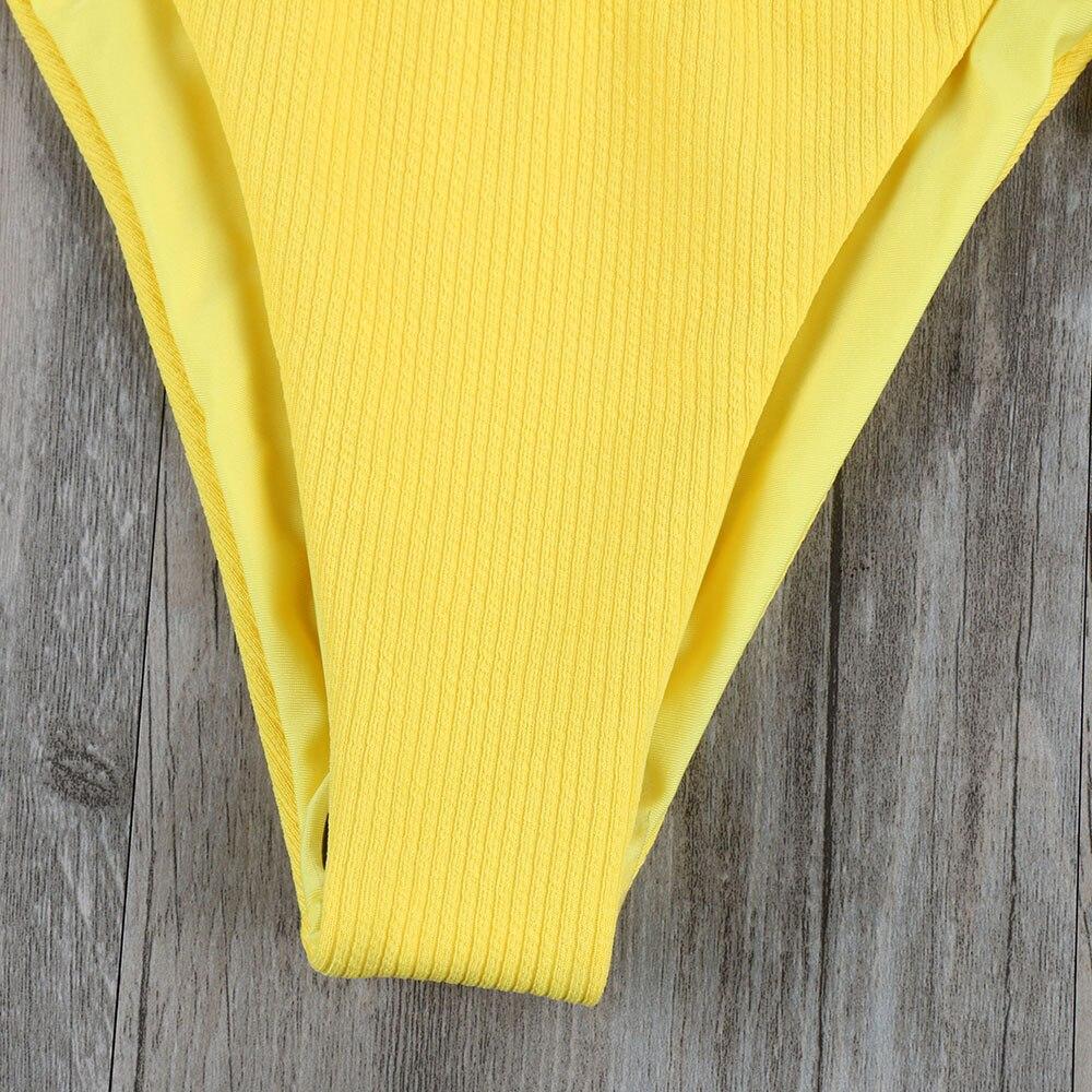 Melphieer Girls Yellow Red Bow knot Bikini 19 Beach Swimwear Summer Swimsuit Female Bikinis Women Bathing Suit Maillot De Bain 13