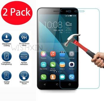 2 uds. Para Huawei Honor 4X Protector de pantalla de vidrio templado 2,5 9h película protectora de seguridad en Honor4X 4 X Che2-L11 Che2 L11