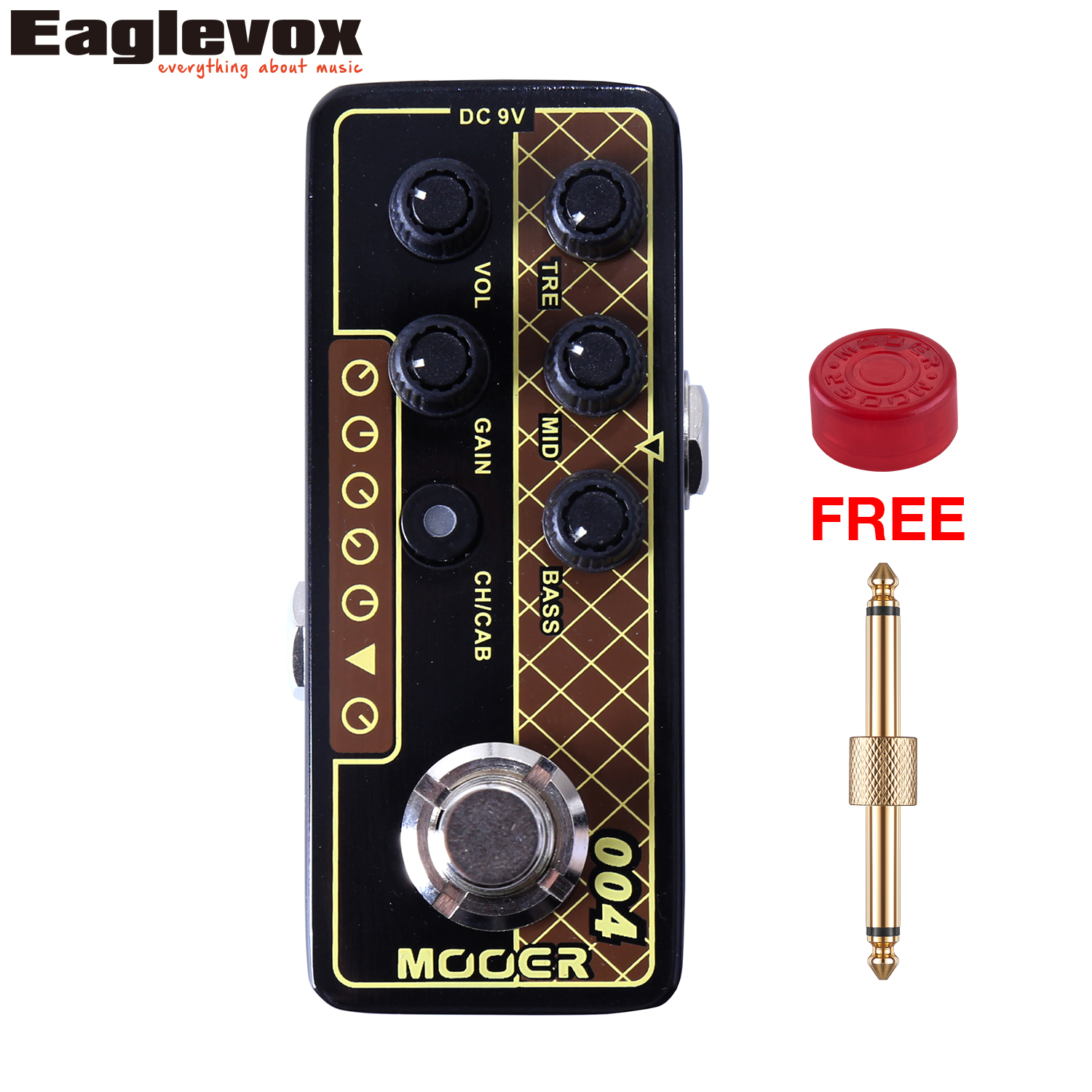 Mooer 004 Day Tripper Micro Preamp Dual Channel 3 band EQ Gain Volume Controls Guitar Effect Pedal with Free Gift professional hand tool wire tripper long float nose nanual wire tripper hot sale wire tripper free shipping