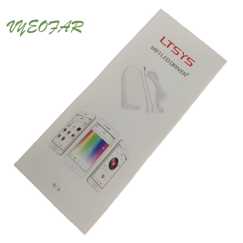 New LTECH CV 7524 WF03 A 24V WIFI Led RGB Controller With 75W Power driver 2
