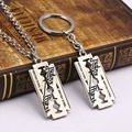 HSIC British Rock Band Judas Priest 2 Metal Keychain Pendant Fashion Key Chain Chaveiro Key Ring For Men HC12148