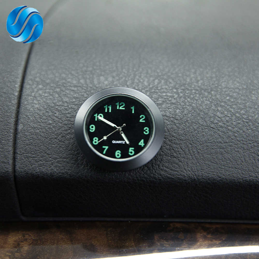 Car Clock For Car Luminous Auto Gauge Air Vent Quartz Clock with clip Auto air outlet Watch Car styling