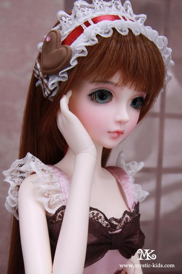1/4 scale 43cm  BJD nude doll DIY Make up,Dress up SD doll.Mystic  kids Evelyn .not included Apparel and wig 1 4 scale 43cm bjd nude doll diy make up dress up sd doll girl elena not included apparel and wig