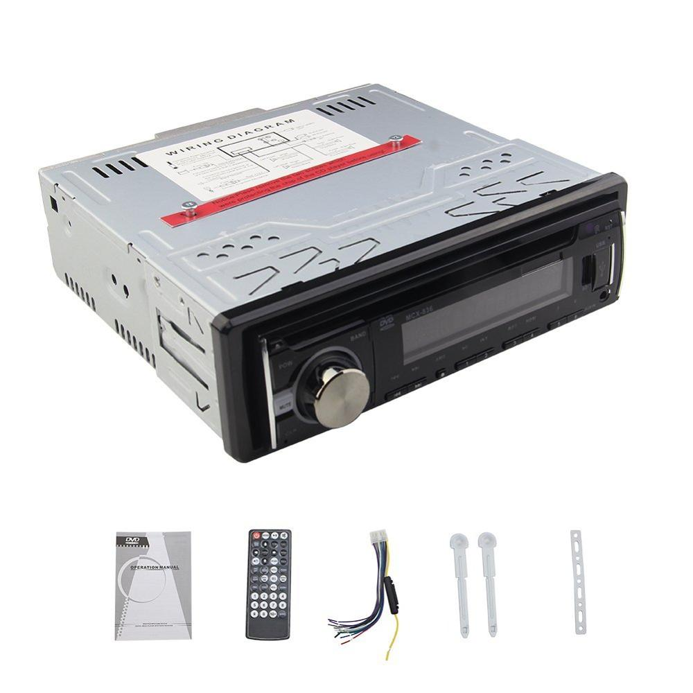1 DIN Car dvd Player 1din Car Radio Player Stereo In-Dash autoradio single din EQ Adjust FM/MP3/Audio/Charger/USB/SD/AUX 1 din car dvd player autoradio single din 1din car radio player stereo fm mp3 audio charger usb sd aux auto electronics