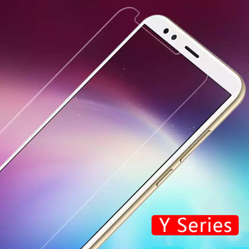 Protective Glass On The For Huawei Y3 Y5 Y6 2017 Y7 Prime Y9 2018 Tempered Glas Screen Protector Y 3 5 6 7 9 3y 5y 6y 7y 9y Film image