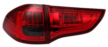 Free shipping for VLAND factory Car part For Pajero sport led bar taillight 2011 2012 2013 2014 2016 plug and play design