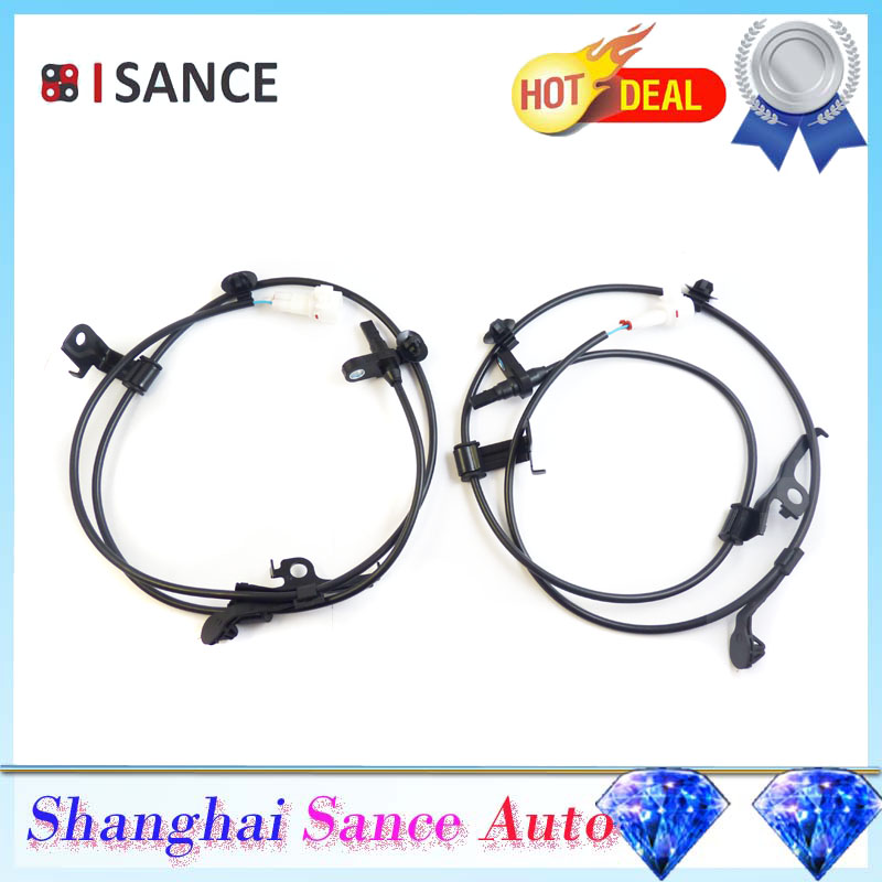 ISANCE ABS Wheel Speed Sensor Front Left Right 89543 52030 89542 52030 For Toyota Yaris Vios