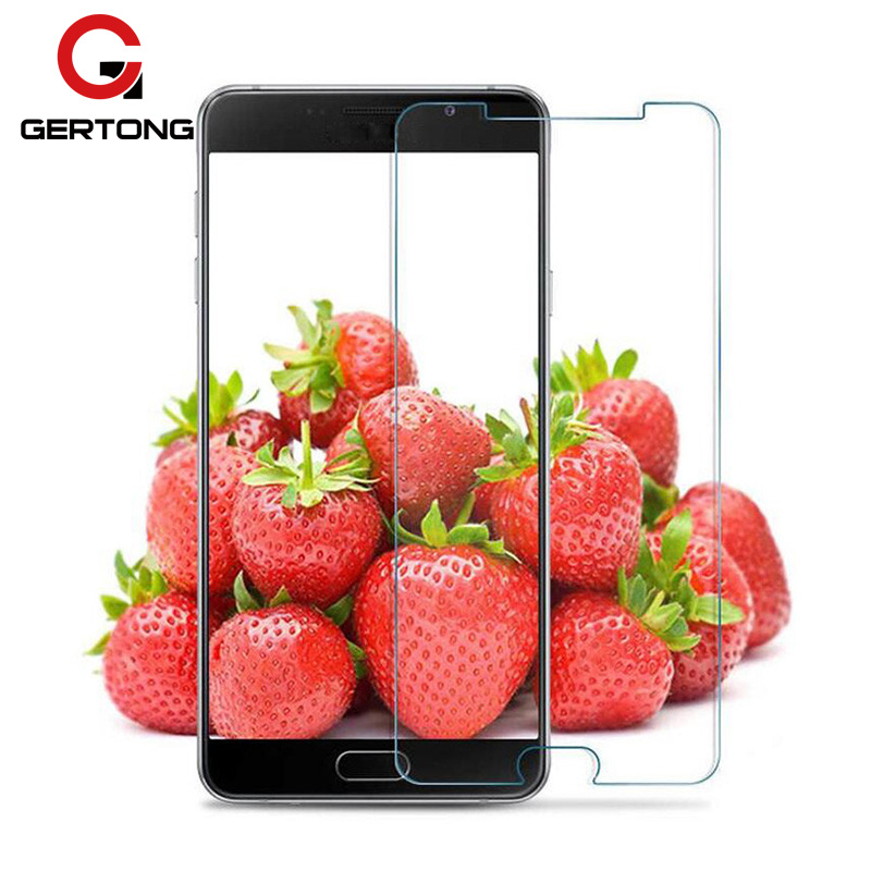 GerTong 2.5D 9H Tempered Glass For Samsung Galaxy A5 A3 A7 J7 J5 J3 J1 mini 2016 2015 S6 S5 Toughened Screen Protector