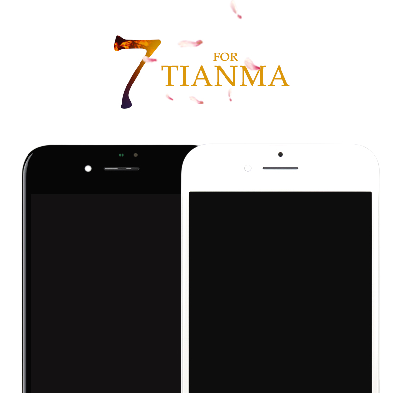 5PCS For iPhone 7 7G For Tianma Excellent Quality LCD No Dead Pixel Display Touch Screen