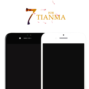 Image 1 - 5PCS For iPhone 7 7G For Tianma Excellent Quality LCD No Dead Pixel Display Touch Screen Digitizer Assembly 3D Free Shipping DHL
