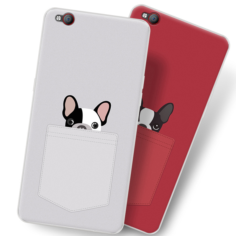 timeless design 7c83e d4371 US $4.98 |2017 New For ZTE Nubia M2 Play/NX907j case,Purecolor Cute Cartoon  painted Soft TPU shell back cover case for Nubia M2play -in Half-wrapped ...