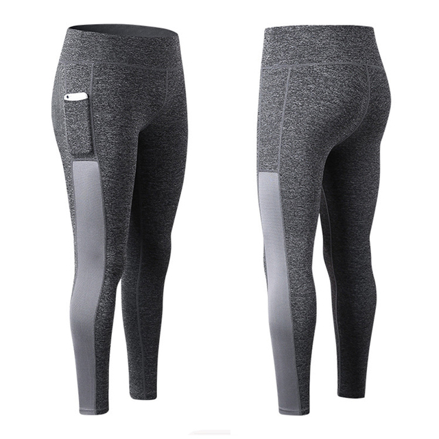 6ff1a7452a666 New Sexy Women Gym Long Yoga Running Pants Sports Leggings Skinny Fitness  Tight Trousers With Pocket for 4.7