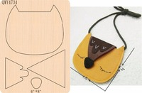 Fox bag new wooden mould cutting dies for scrapbooking Thickness 15.8mm