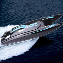 Super Deals RC Boats DH7014 Electric Speedboat Remote Control High Speed Fast Boat Toys 2.4G Control Ship