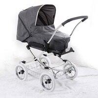 Детские коляски 3 в 1 Детские коляски для новорожденных тележки высокое пейзаж большие колеса сидеть складной амортизатор Коляски