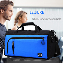 Outdoor Dry Wet Sport Gym Bag for Mens Fitness with Shoe Compartment Yoga Gymtas Training Waterproof Trave Tourist Handbag