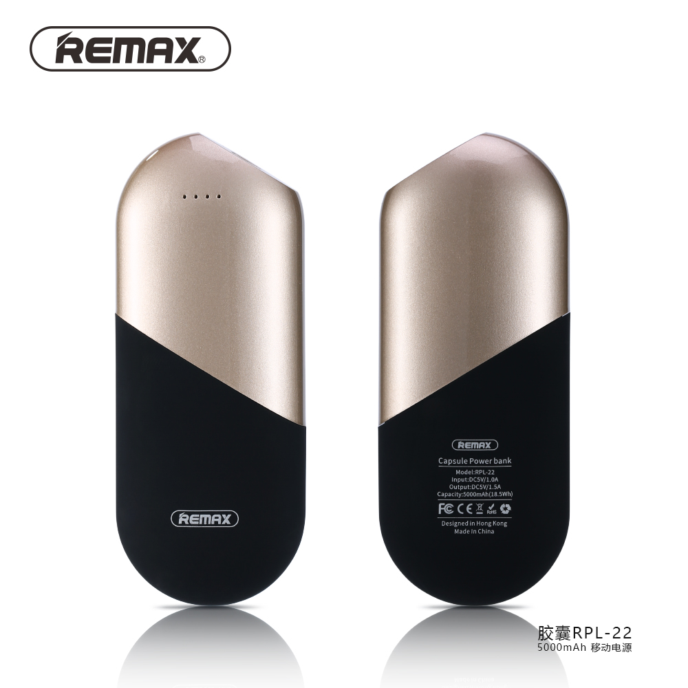 bilder für Remax energienbank 5000 mah externe bewegliche handy-akku ladegerät mini power box schnellladung cargador portatil für iphone