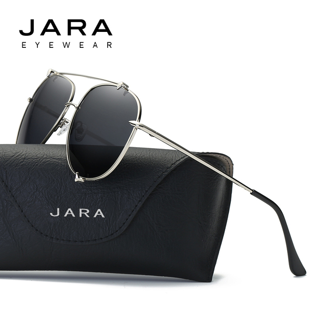 e56cdd43ca JARA Women Fashion Round Ocean Lens Polarized Sunglasses Female Metal UV400  Color Party Style Eyewear Fishing Sun Glasses J0907