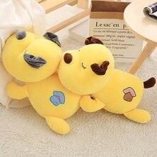 33 / 43cm walking dog sleeping pillow long strip plush toy accompany baby for children birthday gift