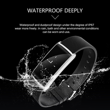 Zeepin N108 Smart Wristband Heart Rate Monitor Blood Pressure IP67 Waterproof Smart Bracelet Bluetooth Watch PK Xiaomi Mi band 2