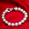 [zhixi] natural pearl jewelry ,real freshwater bracelet beads stone fine jewelry for women [s1118]