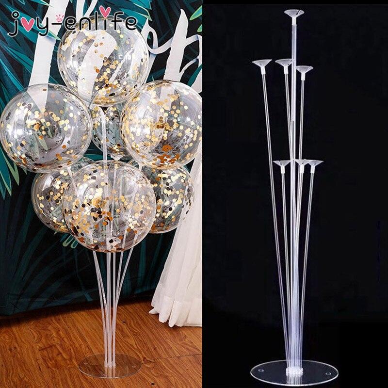 7 труб подставка для воздушных шаров держатель для шарика Колонка воздушный шар